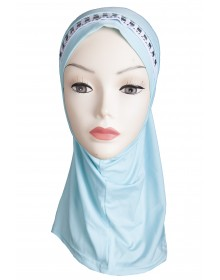 Girls Hijab (light turquoise)